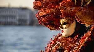 Lễ hội Carnival của Venice nơi mà mặt nạ truyền thống được sử dụng