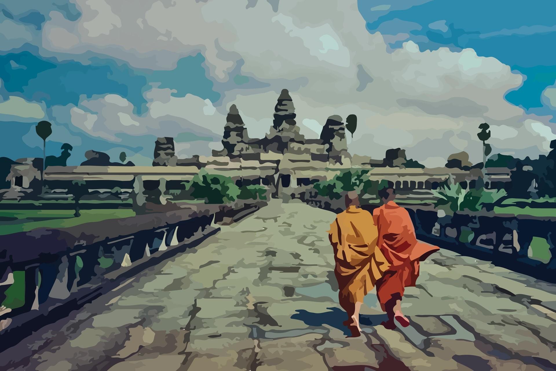 Kinh nghiệm du lịch mùa thu đến xứ sở chùa tháp Campuchia