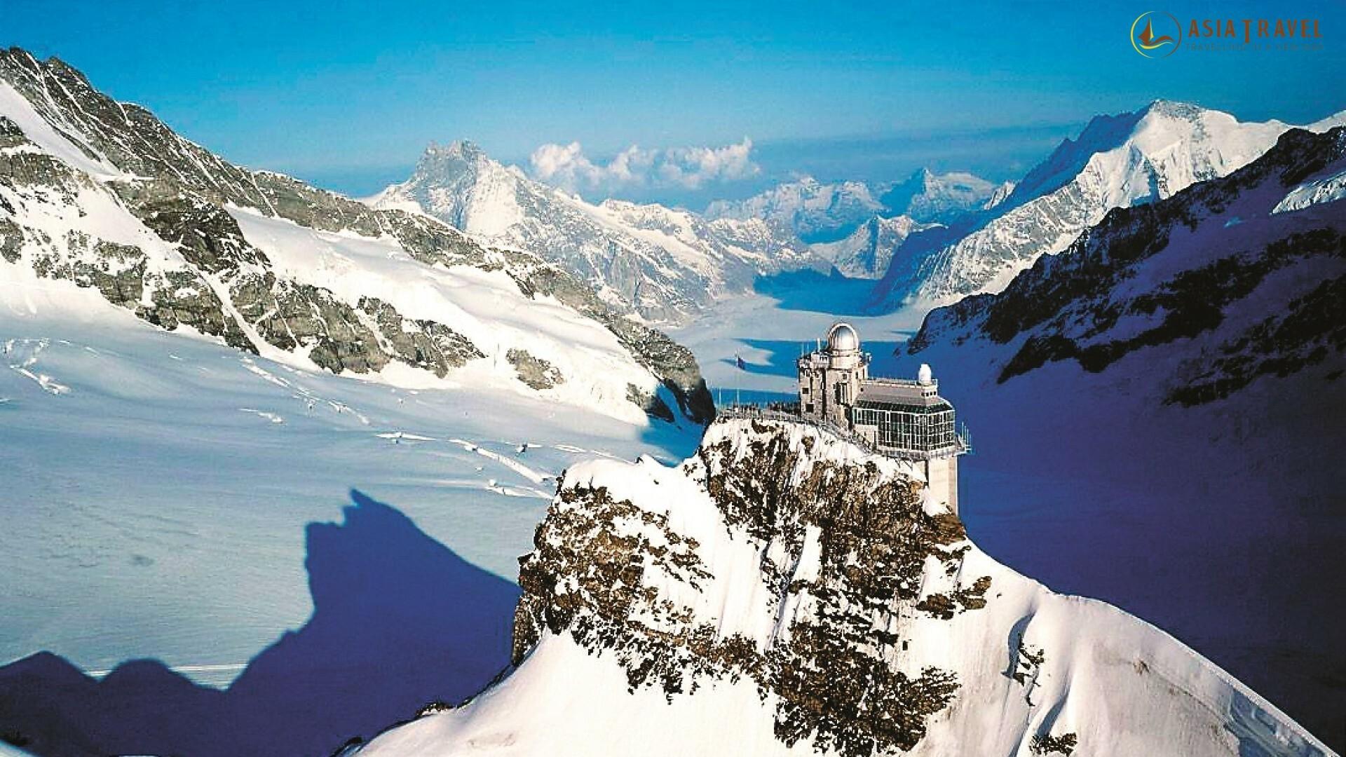 Điểm danh 5 ngọn núi tuyết ở Thụy Sĩ đẹp nhất mà bạn nên đến